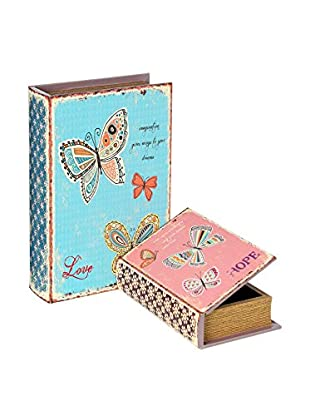 NATURA ACCENT Set Caja libro 2 Uds. Butterfly