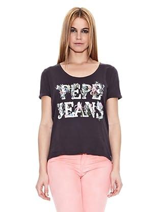Pepe Jeans London Camiseta Zoe (Negro)