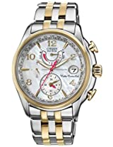Citizen Eco-Drive World Time A-T Ladies Watch Fc0004-58D
