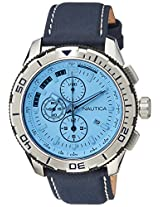 Nautica Sports Chronograph Blue Dial Men's Watch - NAI19519G