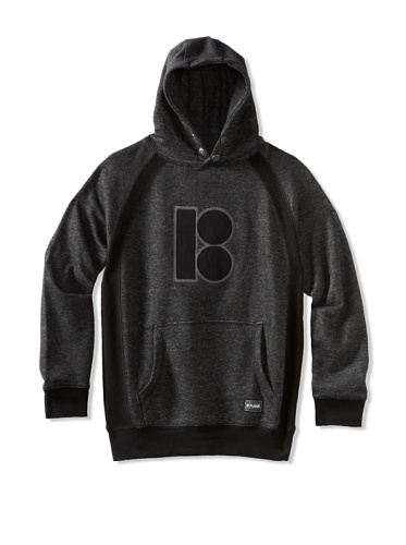 Plan B Boy's Shut Out Hoody (Black)