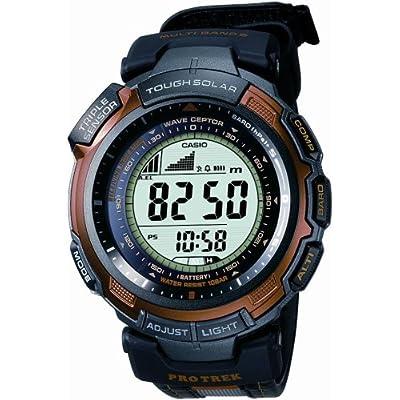 CASIO (カシオ) 腕時計 PROTREK プロトレック TRIPLE SENSOR 「AR World Series」タイアップモデル 超薄型ソーラー電波時計 MULTIBAND5 PRW-1300ABJ-4JR