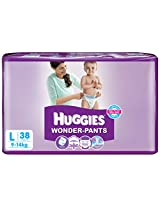 Huggies 10014690 Wonder Pants Diapers-Large