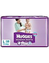 Huggies 10014690 Wonder Pants Diapers-Large
