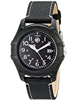 Timex Mens T49689 Analog Camper Canvas Strap Expedition Watch