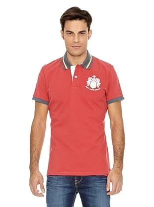 Pepe Jeans London Polo Broadbent (Rojo)