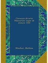 Chronica ab ortu Polonorum usque ad annum 1504