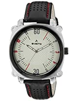 Aveiro Casual Analog Beige Men's Watch (AV50CRMBLK)
