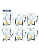 Luminarc Tempered Flame Fruity Tea Mug - 6 PC