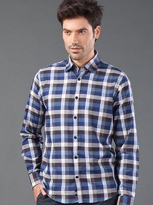 Roberto Verino Camisa Cuadros (marrón / azul)