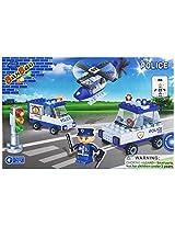 BanBao Police Building Set, 113-Piece