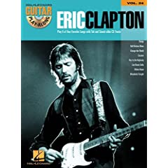 Eric Clapton Guitar Play: Along (Hal Leonard Guitar Play-Along)