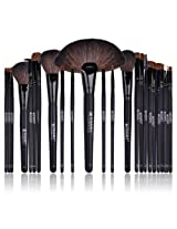 SHANY Cosmetics  Studio Quality Natural Cosmetic Brush Set with Leather Pouch, 24 Count
