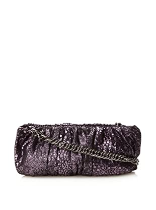 Inge Christopher Women's Emma Facile Clutch (Black/Purple)