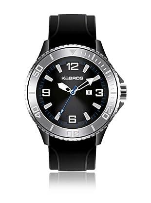 K&BROS Reloj 9563 (Negro)