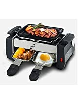 CPEX Kitchen Indoor Nonstick Electric Barbecue Grill With Frying And Roasting Function