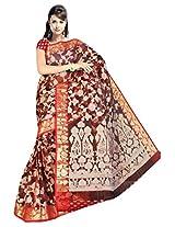 Saree Sansarr Saree (6031_Red)