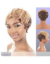 H. Kea (Motown Tress) Remy Human Hair Full Wig In Off Black