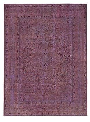 eCarpet Gallery Color Transition Rug, Magenta, 9' x 12'