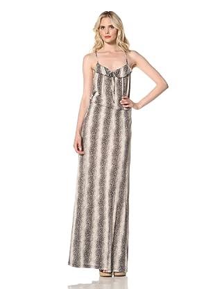Parker Women's Long Cami Dress (Dizzy Dot)
