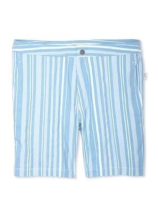 Onia Men's Spanish Calder Swim Short (Blue Stripe)