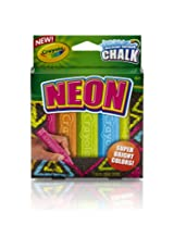 Crayola Special Effects Sidewalk Chalk - Neon