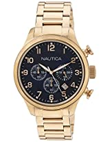 Nautica Chronograph Black Dial Men's Watch - NTA20118G
