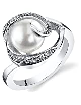 Kiara Swarovski Signity Sterling Silver Kimaya Ring KIR0687 (12)