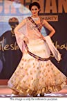 Bollywood Replica Model Net Lehenga In Off White Colour NC772