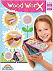 Colorific Wood Worx Girls Pencil Case, Multi color
