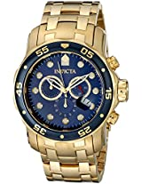 Invicta Analog Blue Dial Men's Watch - 73