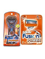Gillete Fusion Power Razor Cartridge Combo