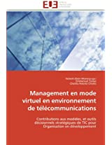 Management En Mode Virtuel En Environnement de Telecommunications