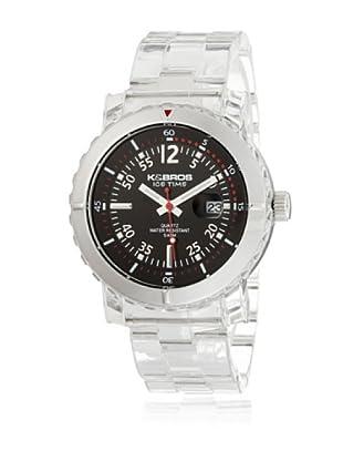 K&BROS Reloj 9407-1 Plata