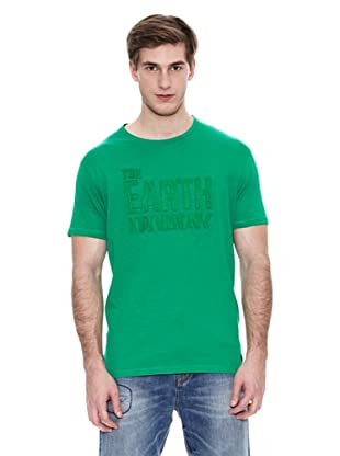 Springfield Camiseta Dm Patch Tonal (Verde)