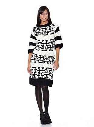 Peace & Love Vestido Tricotosa (negro)
