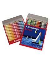 Staedtler 137 C 48 Abs Luna Water Colour Pencil , 48 Pcs Pack