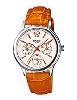 Casio Enticer White Dial Women's Watch - LTP-2085L-5AVDF (A862)