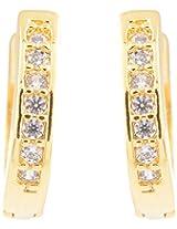Nakshatra Collection Gold Metal Earring For Women
