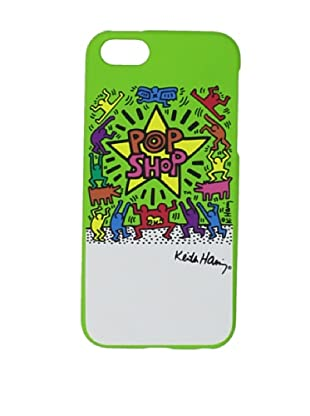 Keith Haring Collection Bezel Case for iPhone 5 with Earphones POP SHOP/Green