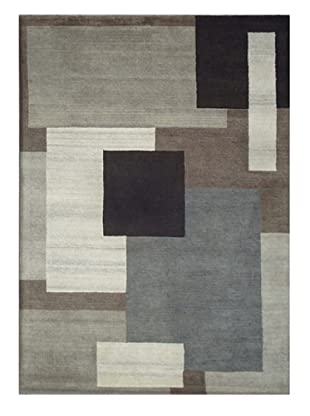 Mili Designs NYC Abstract Cubes Rug, 5' x 8'