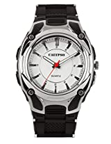 Calypso Black PU Analog Men Watch K5560 1