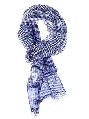 Titto Bluni Bufanda Clásica (Azul)
