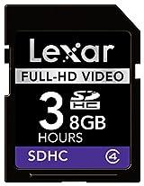 Lexar 8GB SDHC Full-HD, LSD8GBFBEUHD