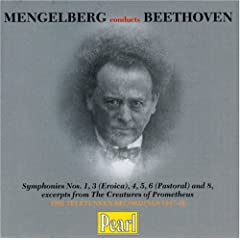 Mengelberg Conducts Beethoven - Symphonies no 1, 3-6 & 8