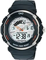 Q&Q Standard Dual Time Analog-Digital White Dial Men's Watch M012-001