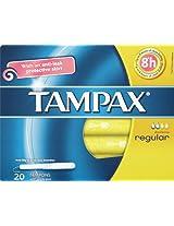Tampax Regular Tampons - 20