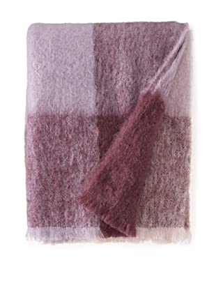 BRUN DE VIAN-TRIAN Mohair Throw, Douceur