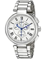 August Steiner Men's AS8148SS Analog Display Swiss Quartz Silver Watch