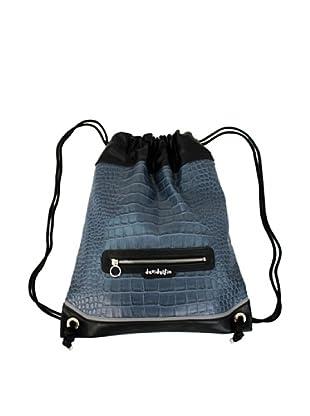 Davidelfín Bolso Back Pack (Azul Cocodrilo)